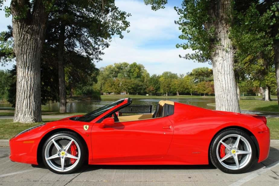 Midway's New Ferrari 458 Spider