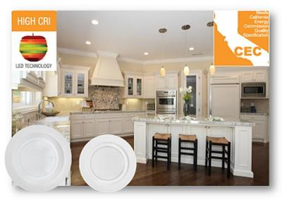 CEC 4-inch and 6-inch downlights