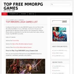 Best MMORPG 2014