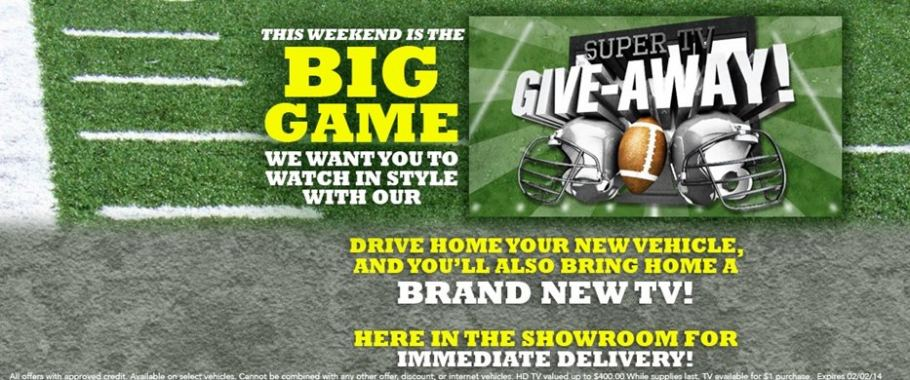 Tri-Cities Chrysler Dodge Jeep RAM Super TV Giveaway