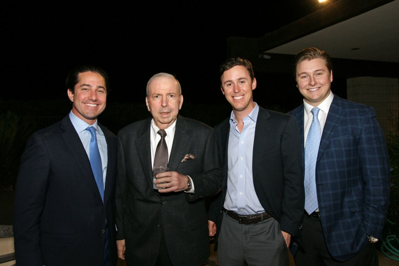 (L to R): Todd Blue, Frank Sinatra Jr, Kelly Wolf and Mike Weibel