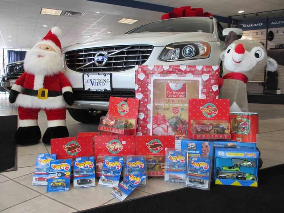 Lovering Volvo is Proud to Support the Santa Fund