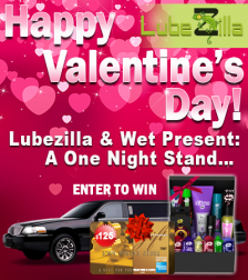 Lubezilla & Wet Present: A One Night Stand Contest