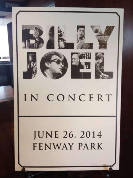Billy Joel Fenway Park