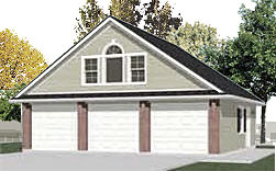 Garage Plan 1208-1b By Behm Design