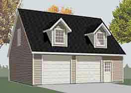 Garage Plan 1476-4 By Behm Design