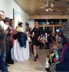 Dr. Lily Zhang walking the runway!!