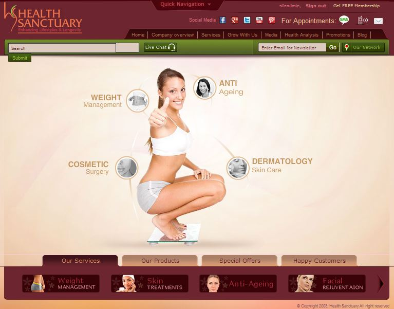 Website: Health Sanctuary