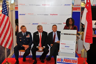 Singapore Airshow US Pavilion 2012 Opening Ceremon