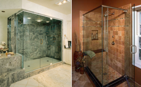 frameless shower doors didnu0027t really get popular until the late 1990u0027s they consist of a thick heavy tempered safety glass they are well known for their