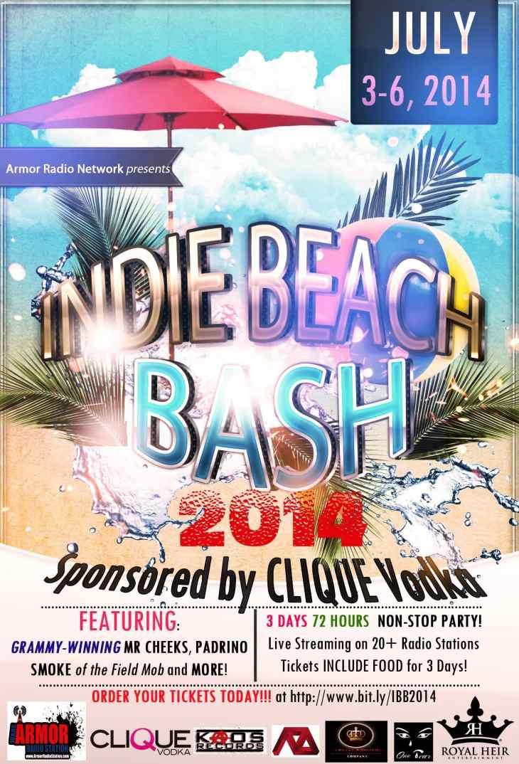 Indie Beach Bash 2014 1