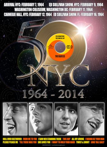 50 Years Nyc Beatles