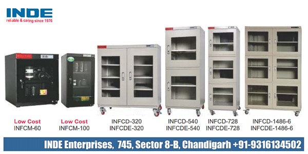 Ultra Low Humidity Dry Storage Cabinets (ESD Safe) introduced in ...