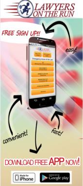 LawyersOnTheRun Mobile App