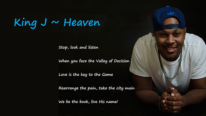 Gospel Singer & Hip Hop Artist, King J.