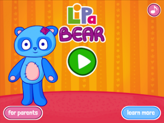 Lipa Bear FREE GAME for toddlers and preschoolers