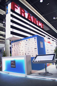 French Pavilion @ MWC 2014