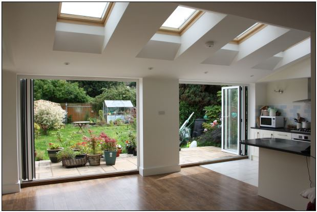 Transform your home for summer with kitchen extensions in for Extension to kitchen ideas