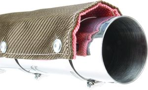 DEI Cycle Titanium Pipe Shield for PowerSports