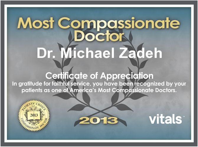 Compassionate Award 2013