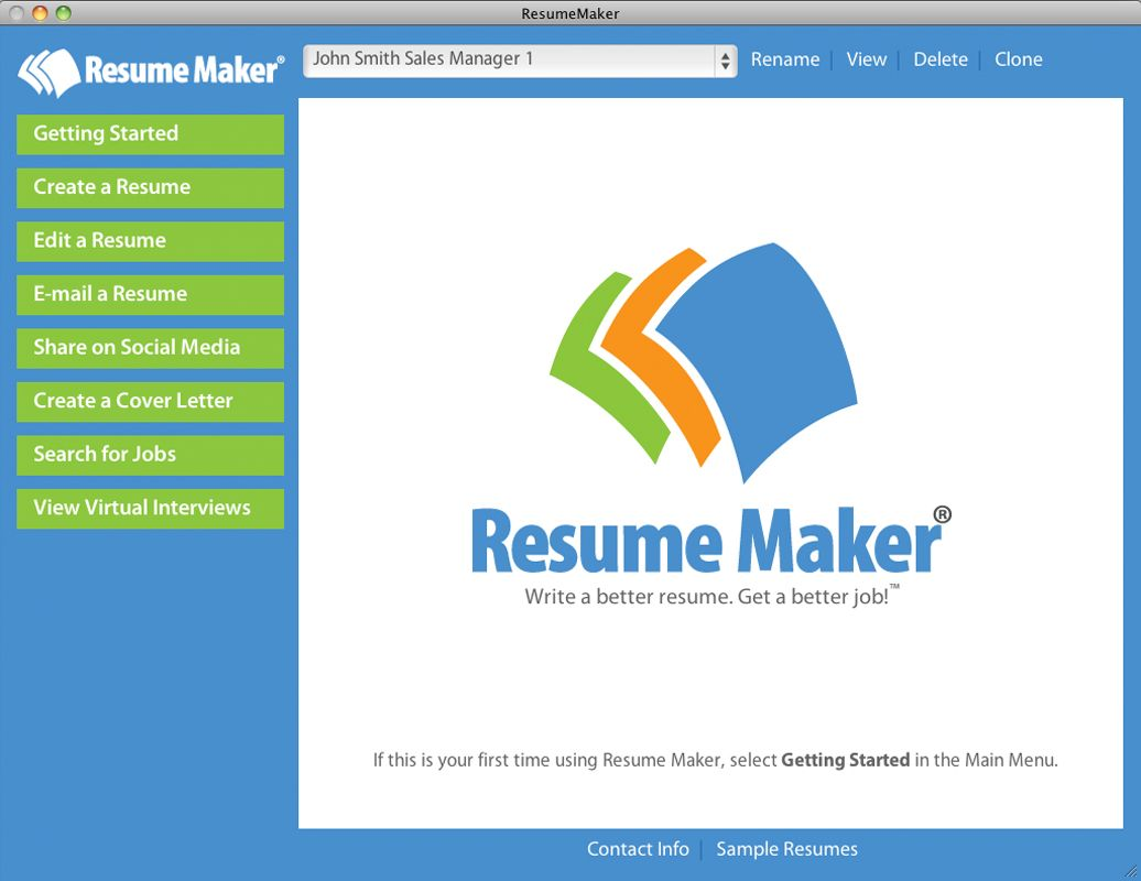 Resume Maker® Mac Offers Latest Technology -- Individual Software ...