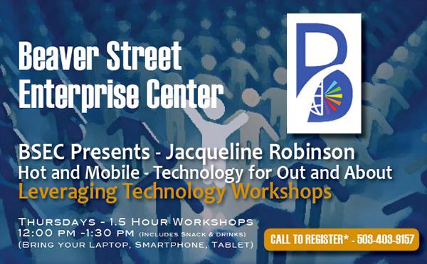 BSEC Leveraging Technology Upcoming Workshops