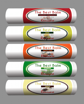The Best Balm - Collection of 5 Balms