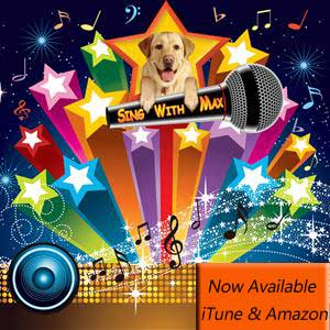 SING WITH MAX CD ALBUM COVER