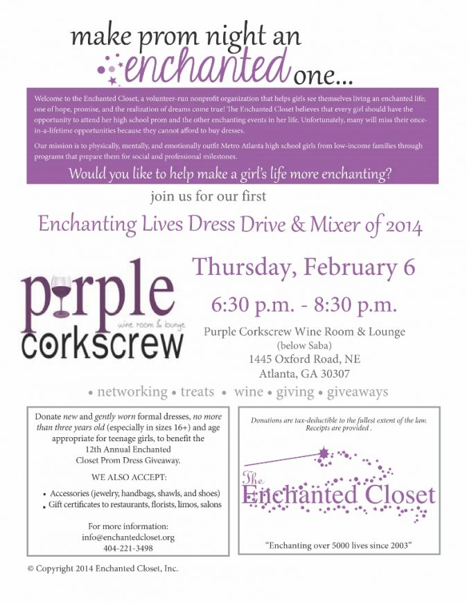 Enchanting Lives Prom Dress Drive