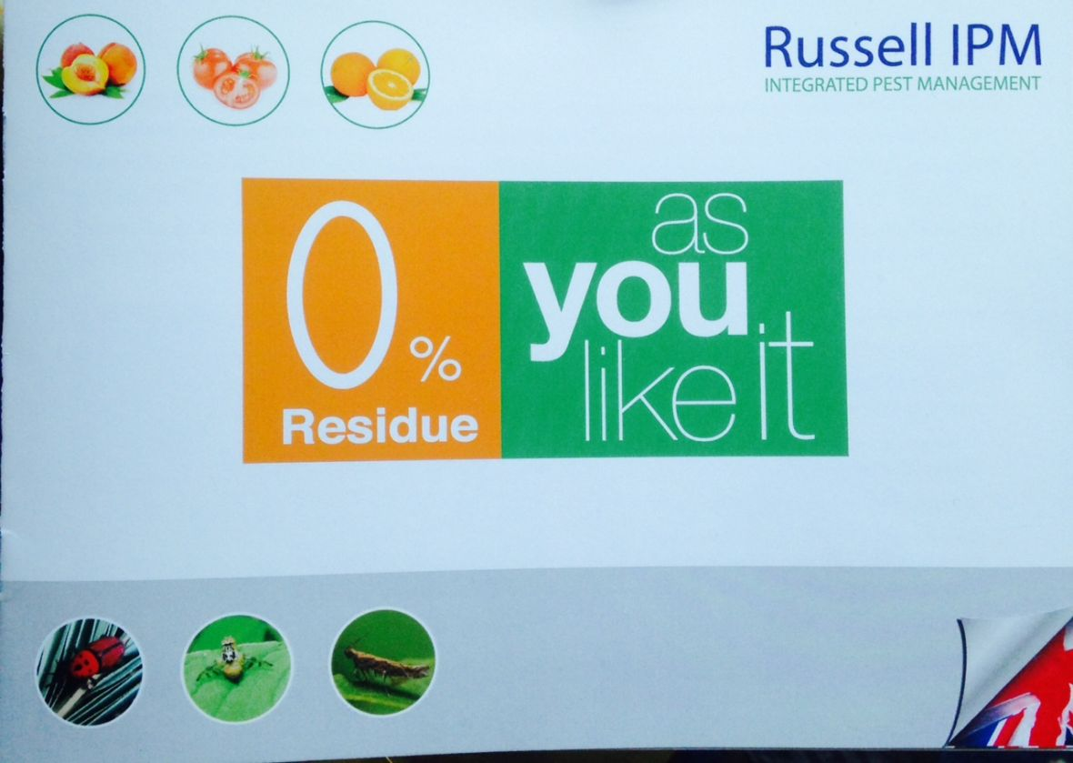0% Residue - As you like it range of solutions by Russell IPM