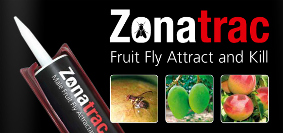 zonatrac- attract and kill solution for Bactrocera zonata