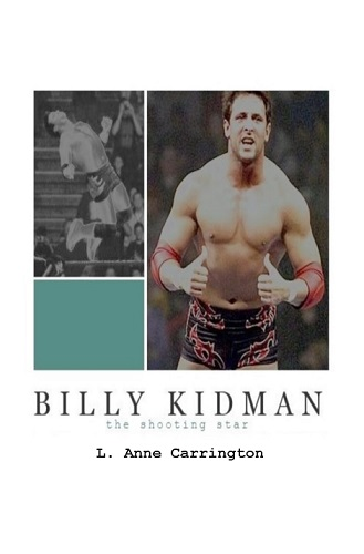 'Billy Kidman The Shooting Star' book cover
