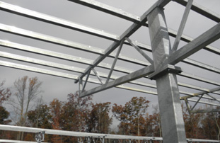Solar Canopy in Virginia by Structural Solar LLC