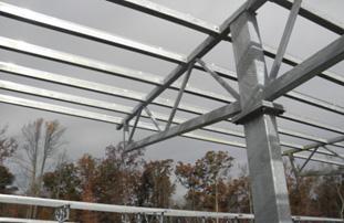 Solar Canopy in Virginia by Structural Solar LLC