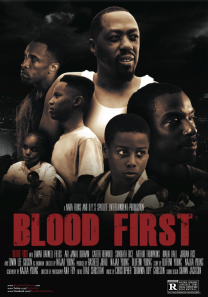 Blood First Poster