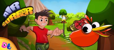 Air Surfer, iOS Game.