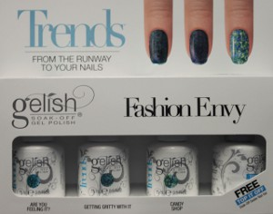 The Fashion Envy kit, part of the Harmony Gelish Trends Collection.