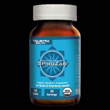 organic spiruzan - spirulina