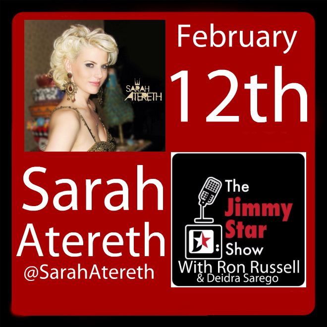 Sarah Atereth on The Jimmy Star Show