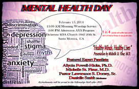 Mental Health Sabbath Delaware Ave SDA