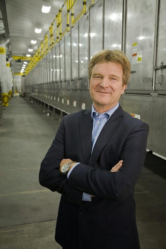 Hans-Jöerg Ill, Bühler Aeroglide President and CEO