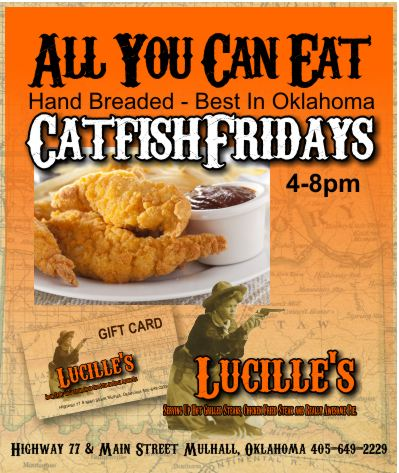 All You Can Eat Catfish on Fridays