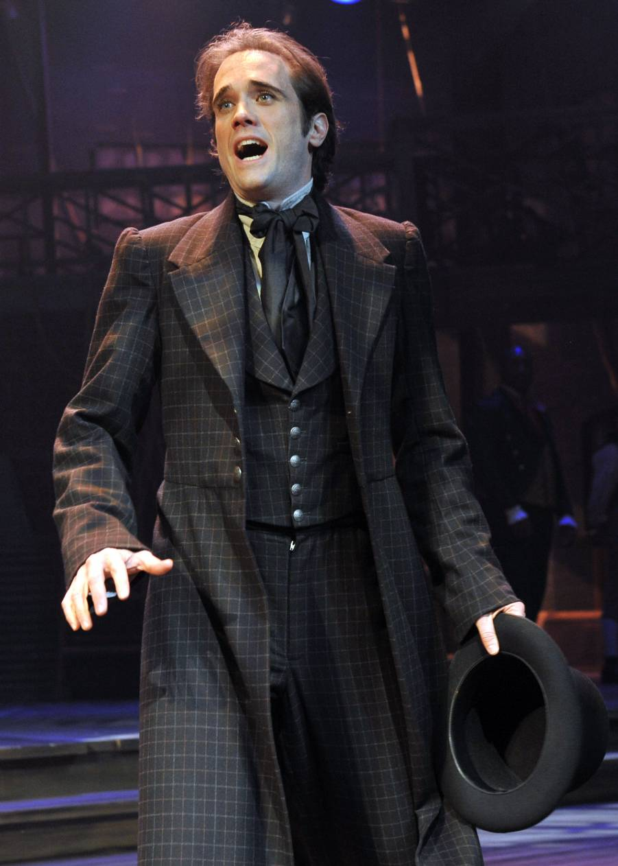 Photo of John P. Keller as Nicholas Nickleby (by Tony Firriolo)