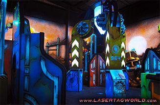 Creative Works Has a New Terraform Laser Tag Theme