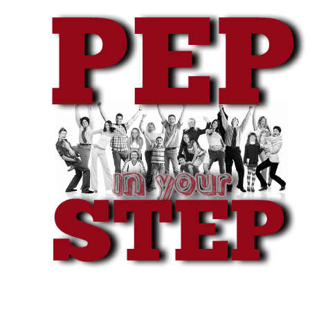 Pep in your Step Logo 3 Transparent