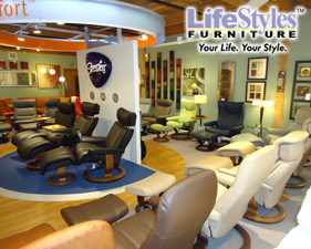Ekornes Stressless Showroom