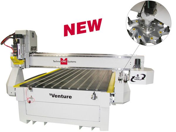New Product from Techno Venture Series CNC Router