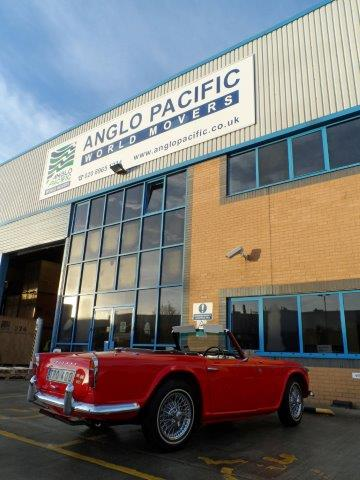 Glyn Williams 1965 TR4A Anglo Pacific  2