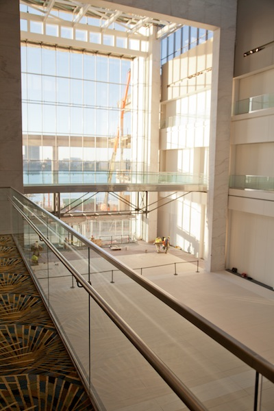 TEC® products helped tile installers create a vibrant space at Cobo.