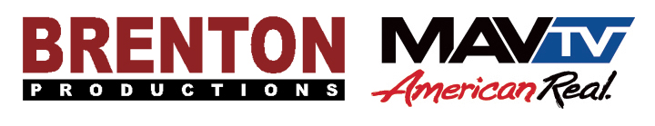 Left to Right: Brenton Productions Logo and MAVTV Logo